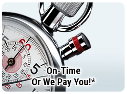 On-Time or We Pay You